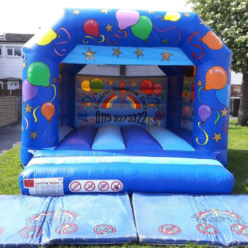 12' Party A Frame with Rain Cover Bouncy Castle