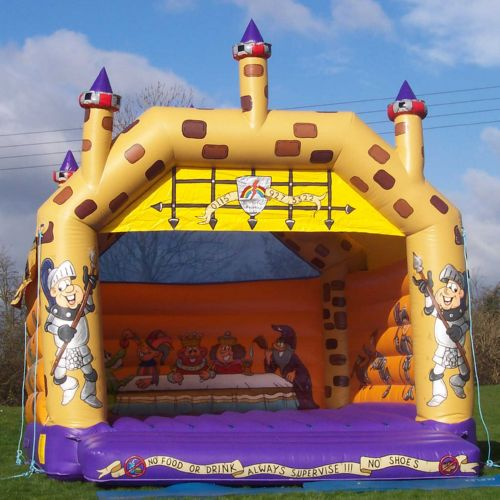 16' Medieval Bouncy Castle