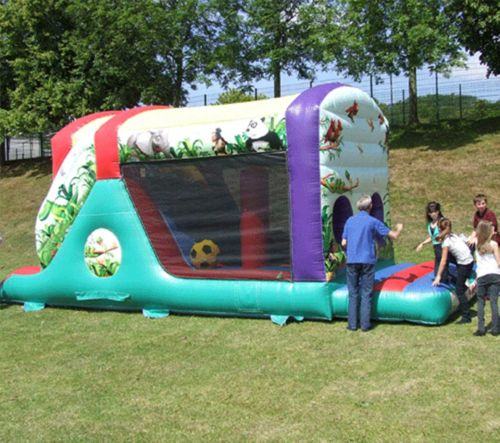 Jungle Fun Run, Mini Obstacle Course Including a Slide Hire